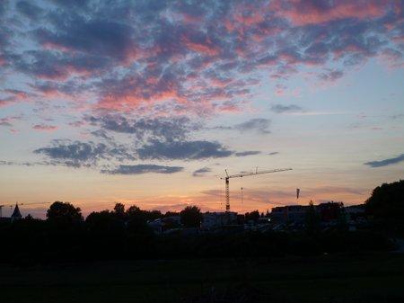 Mai 2011 Sonnenuntergang Hauweg 001