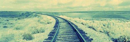 Schienenstrang ins Ungewisse
