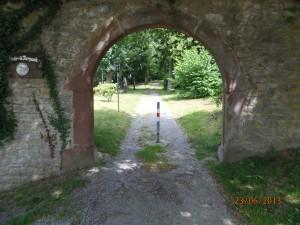Weingarten Vogelpark Tor