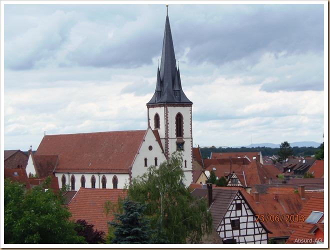 Kirche in Weingarten