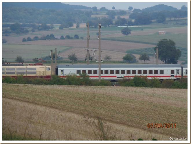 Zug im Kraichgau