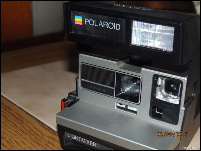 alte Polaroid Kamera