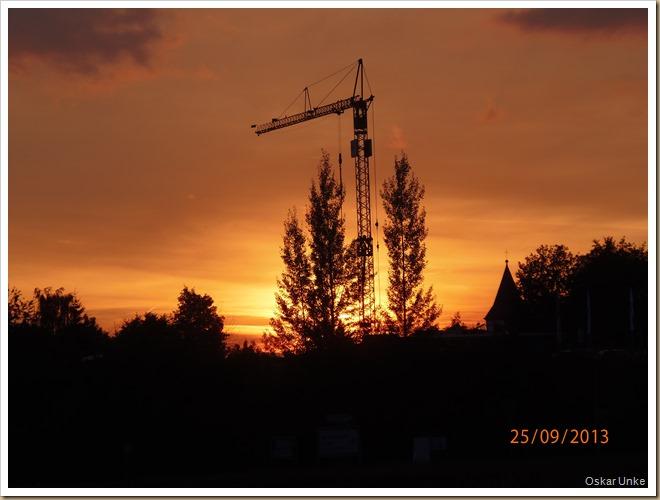 Wössinger Sonnenuntergang