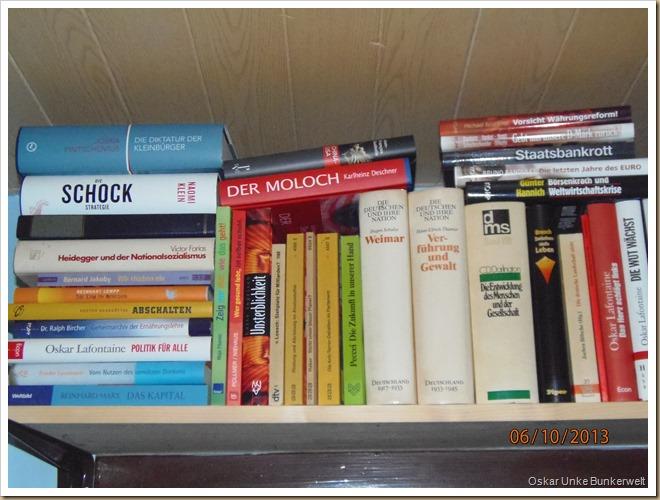 Flur Bücherborde