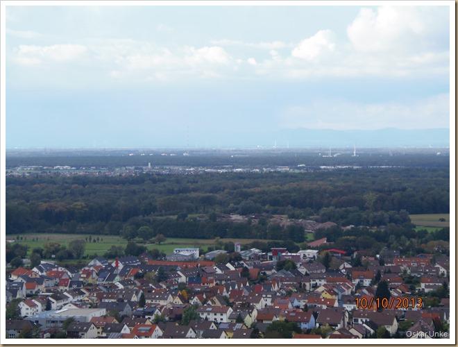 Blick vom Weingartener Kirchberg