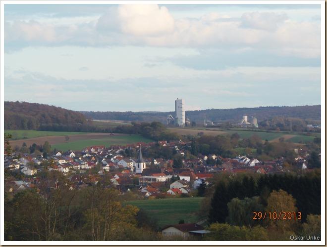 Blick auf Walzbachtal