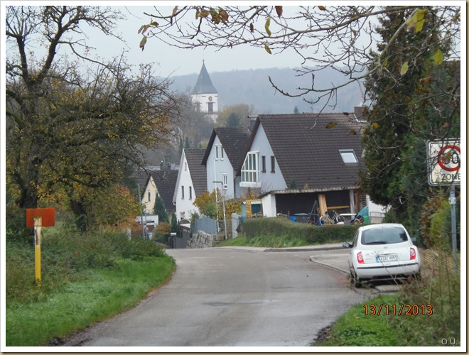 Wössingen Dorfeinfahrt