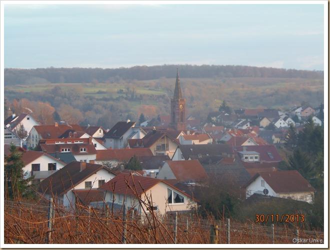 Blick über Obergrombach