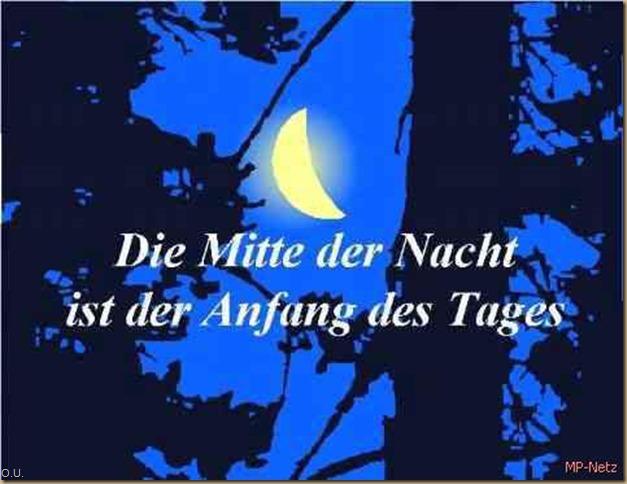 Die Mitte der Nacht