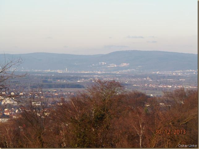 Blick zum kleinen Odenwald