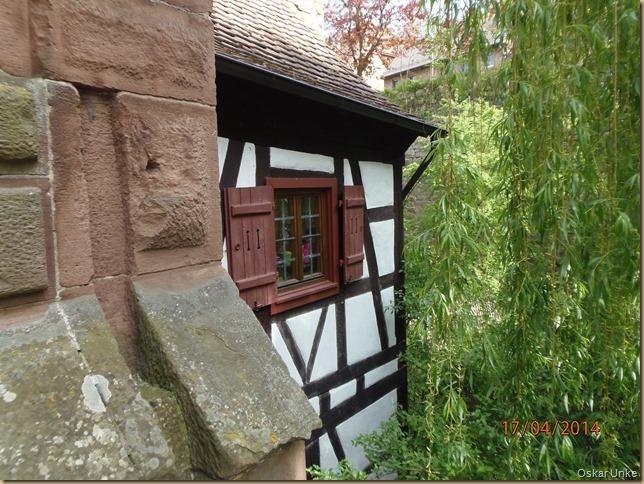 Klostergebäudedetails
