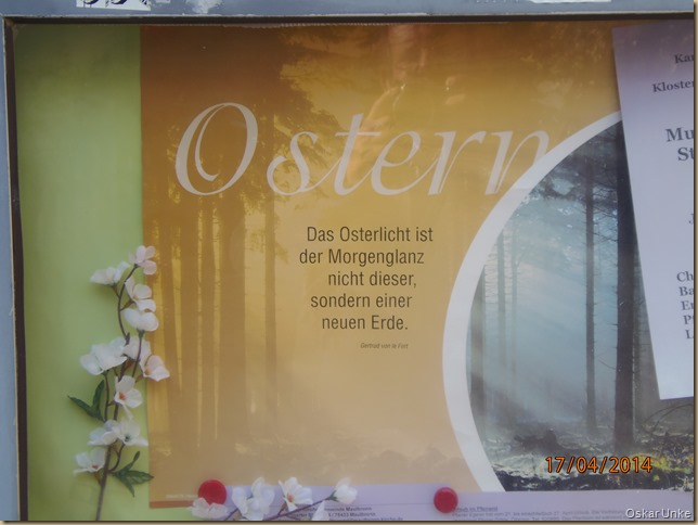 Frohe Osterbotschaft