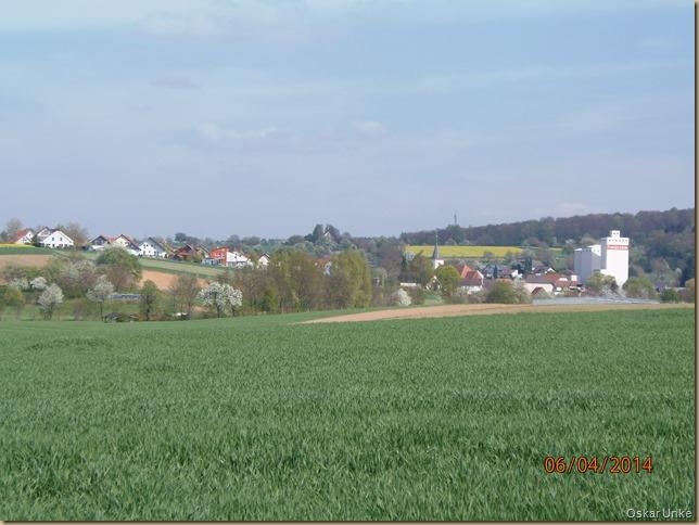 Blick auf Neibsheim