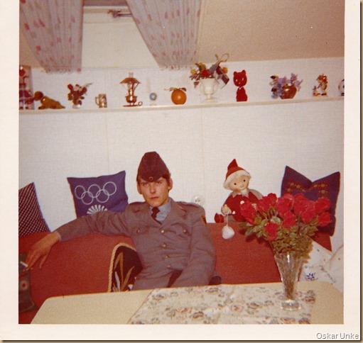 Bundeswehrurlaub Weihnachten 1970