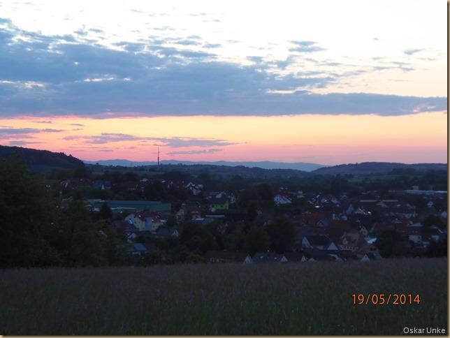 Blick in Richtung Rheinebene
