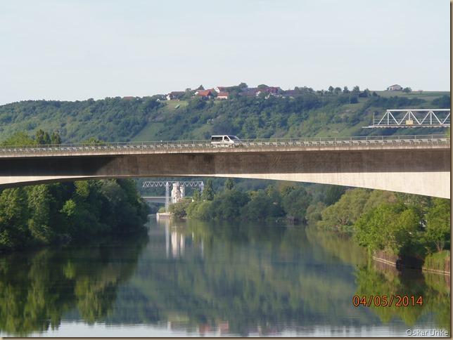 Neckarbrücken bei Obrigheim