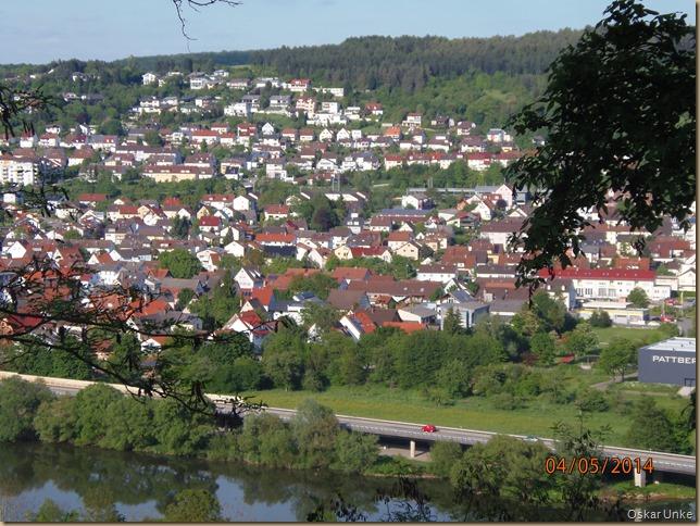 Blick auf Neckarelz