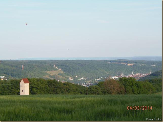 Blick vom Finkenhof