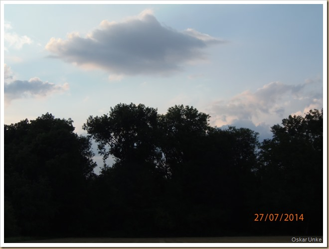 abendliche Himmelsbilder