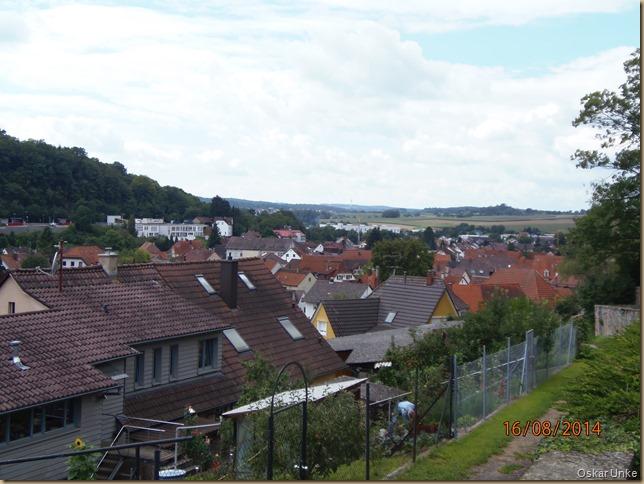 Blick vom Königsbacher Friedhof