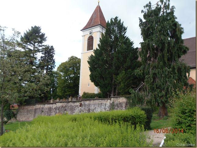 Königsbach Friedhof und Kirche