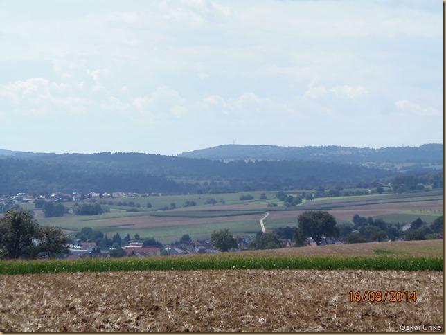 oberhalb von Königsbach