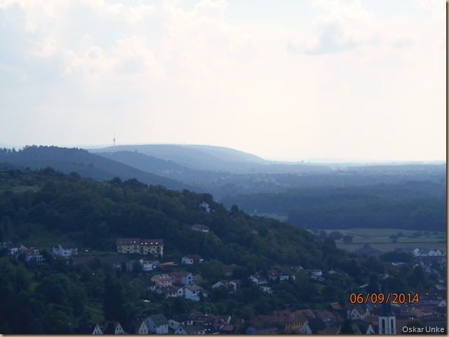 Blick in Richtung Durlach