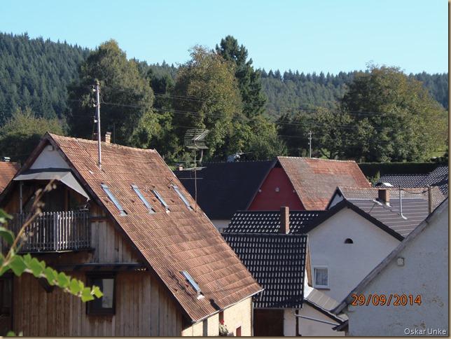 Dachlandschaft in Guttenbach