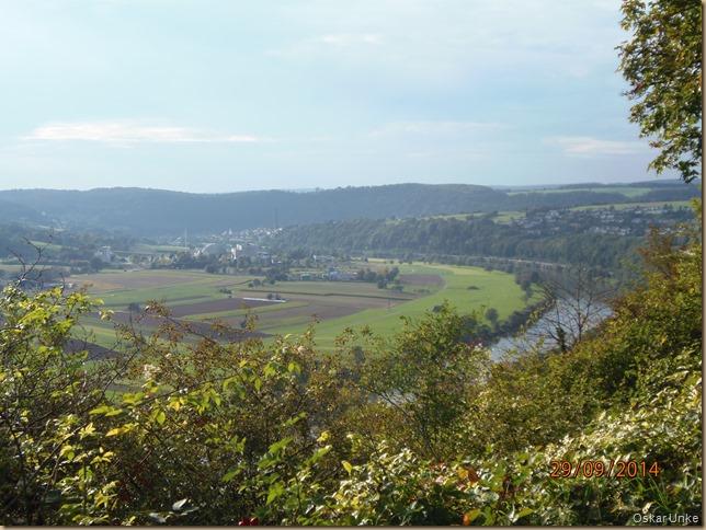 Neckar bei Obrigheim