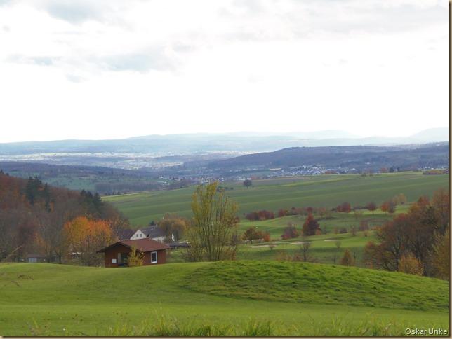 Blick über Golfplatz