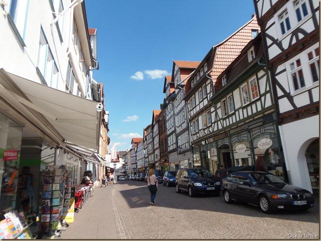 Geschäftsstrasse in Eschwege