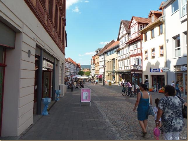 Innenstadt Eschwege Einkaufstrasse