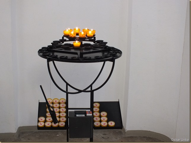 Kerzen in Michaelskapelle