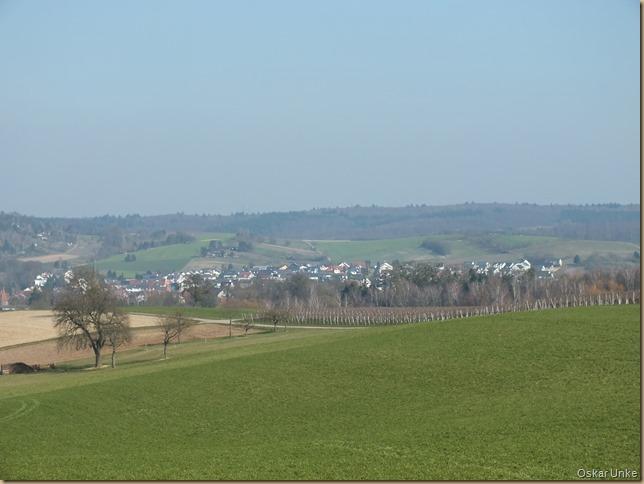 Blick auf Heidelsheim
