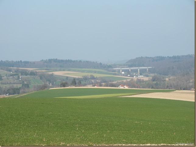 Schnellbahnbrücke bei Heidelsheim
