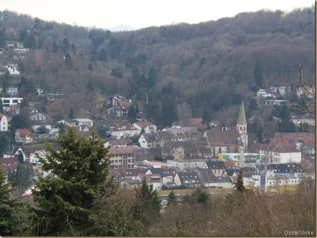 Blick auf Grötzingen
