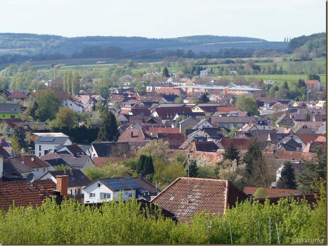 Blick über Wössingen