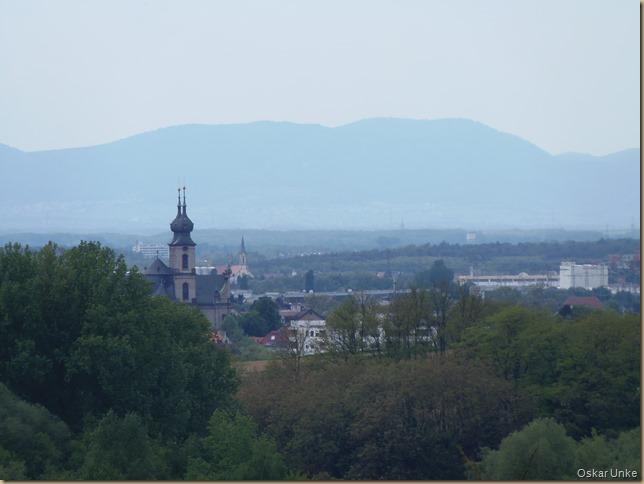 Blick in die Rheinebene und Bruchsal