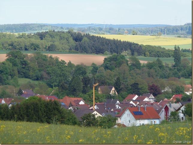 Blick auf Helmsheim
