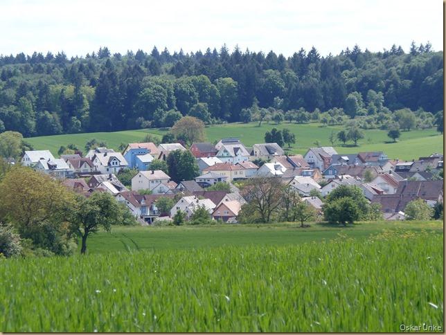 Dorfidylle im Kraichgau