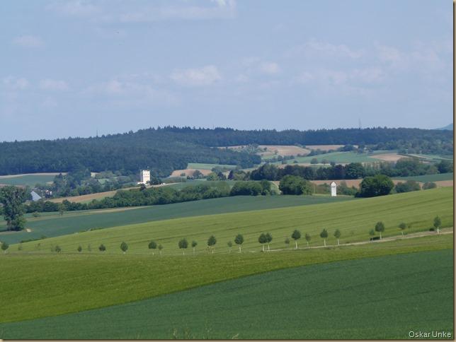 Blick in Richtung Gondelsheim