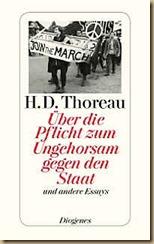 Buch Thoreau Über die Pflicht zum Ungehorsam