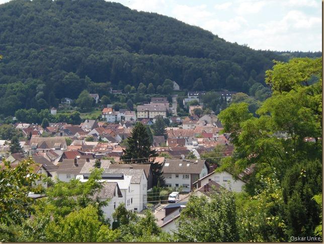Blick auf Berghausen