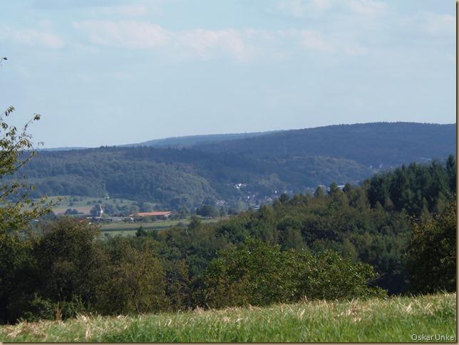 Blick in Richtung Königsbach