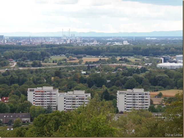 Blick auf Karlsruhe