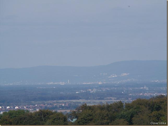 Blick vom Grombacher Kaiserberg