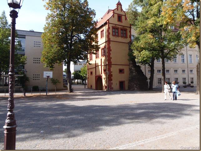 Platz in Durlach