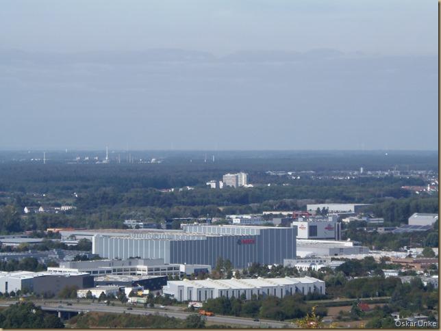 Industriegebiet Karlsruhe