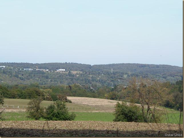 Blick nach Berghausen