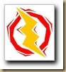 Blitz-gelb-rot
